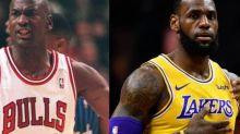 Basket - NBA - Michael Jordan ou LeBron James? Le débat relancé avant la dixième finale NBA de l'ailier des Lakers