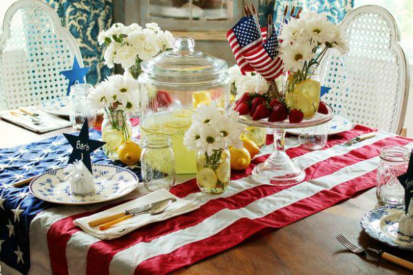 The Home Garden Television Network Has Apologized For An Online Segment That Suggested Viewers Use American Flags As Tablecloths Their Fourth Of July
