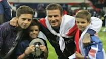 David Beckham's Emotional Farewell