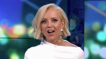 The Project: Carrie Bickmore's X-rated candle gag shocks