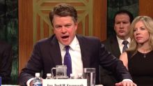 Matt Damon Impersonates Brett Kavanaugh In Instantly Iconic 'SNL' Sketch