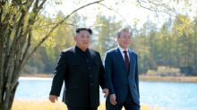 North Korea leader sincere, must be rewarded for move to abandon nuclear weapons: South Korean president