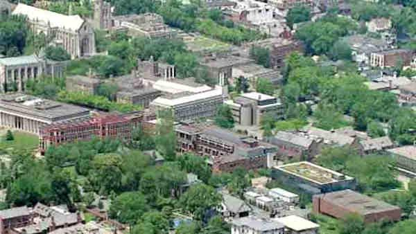 Police search buildings after Princeton bomb threat