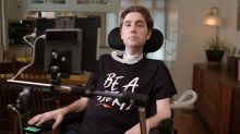 'Each of us must be a hero to our communities': From a wheelchair, Ady Barkan speaks out for Biden