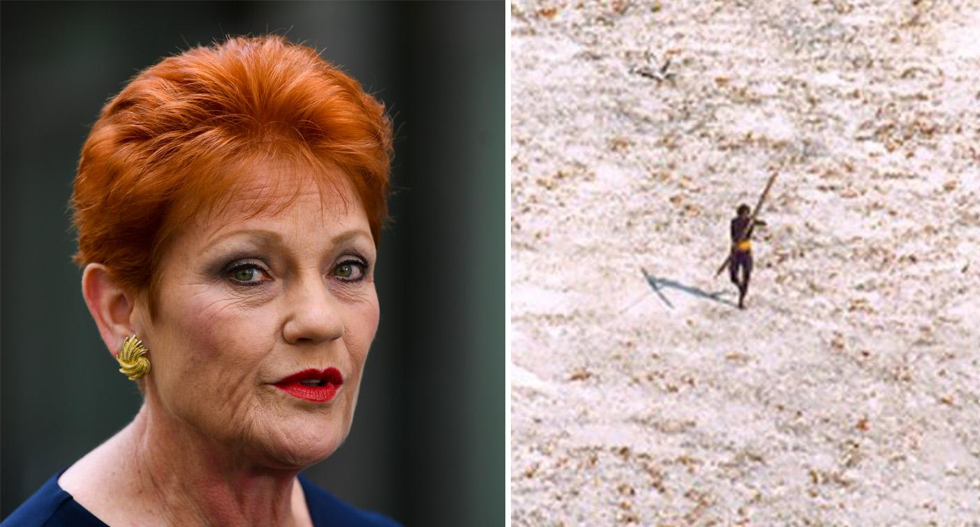 Pauline Hanson praises remote tribe for their 'strict immigration policy'
