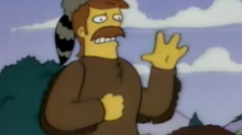 A made-up word from a 22-year-old 'Simpsons' episode has finally made it into the dictionary