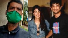 Rhea Chakraborty's security guard reveals big truth of her in Sushant case