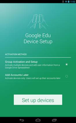 Google's setup app makes bulk Play for Education tablet activations a breeze