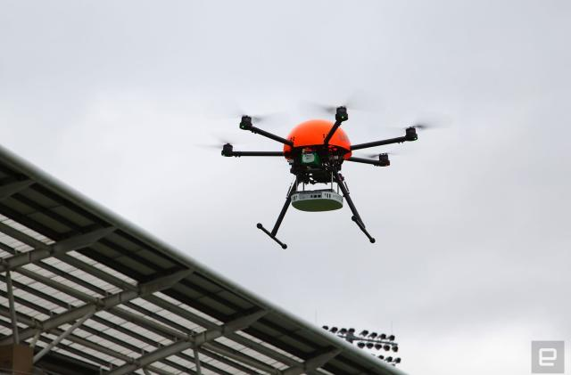 EE looks to drones and big balloons to tackle 4G 'notspots'