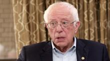Bernie Sanders says he's not worried about splitting the progressive vote with Elizabeth Warren