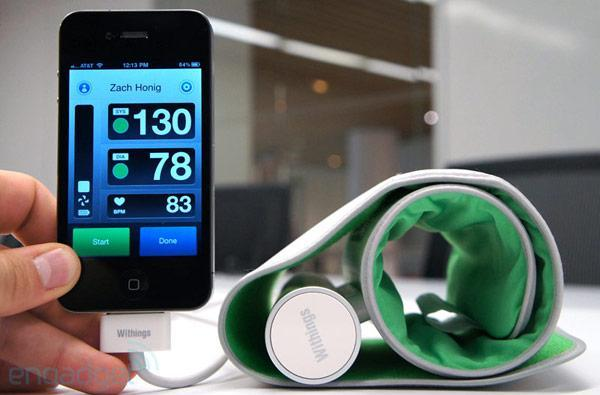 Withings Blood Pressure Monitor for iOS hands-on (video)