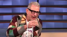 Jeff Goldblum Doing Rope Tricks On 'Conan' Is Peak Internet Daddy