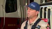 B.C. wildfires: Penticton fire chief says threat to homes, businesses 'limited' due to work by crews