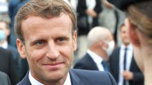 'Be cool', France's Macron tells hecklers on walkabout