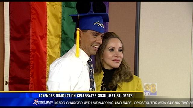 Lavender Graduation celebrates SDSU LGBT students