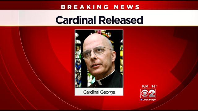 Cardinal Released From Hospital