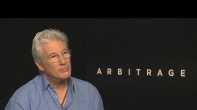 Arbitrage - Richard Gere talks about playing ...