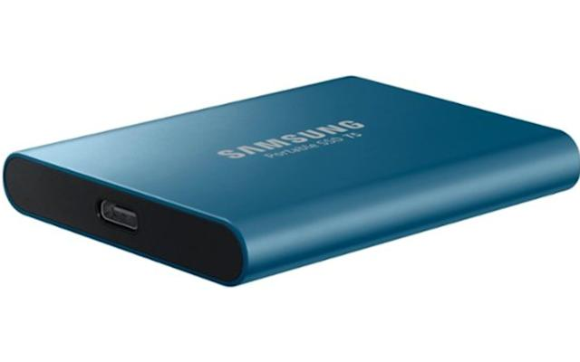 Grab Samsung's 500GB T5 SSD for $80 at Best Buy