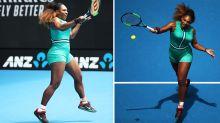 Serena Williams praised for bodysuit and fishnets ensemble worn during Australian Open