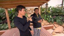 Mansão de Rodrigo Faro tem sauna, elevador e piscina com duas ilhas