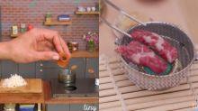 每日IG - 紅爆IG的煮食平台Tastemade袖珍版 超過癮迷你廚房乜大餐都煮到