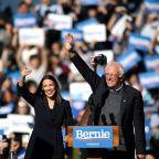 Ocasio-Cortez endorses 'uncle' Bernie Sanders in US race