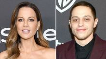 Kate Beckinsale and Pete Davidson confirm romance with first public kiss