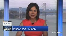 Pot stocks light up after two big announcements in the sp...