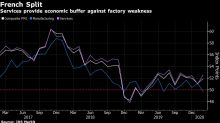 French Economy Leans on Services as Manufacturing Shrinks