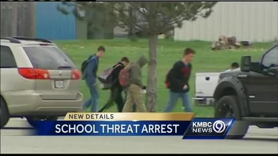 Teen charged in online threats to Ray-Pec school