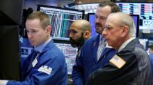 Global stocks fade from record highs, dollar falls on Fed minutes