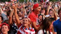 Soccer Fans in Chicago Cheer On US Women's Team