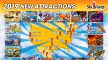 The World's Tallest, Fastest and Most Innovative New Rides Coming to Six Flags Parks in 2019