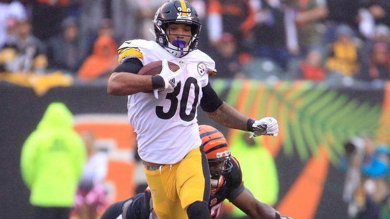 """Ben Roethlisberger jokes James Conner did well in his """"last game"""""""