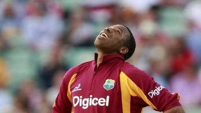 Kieron Pollard hits six sixes in an over in West Indies' T20 win over Sri Lanka