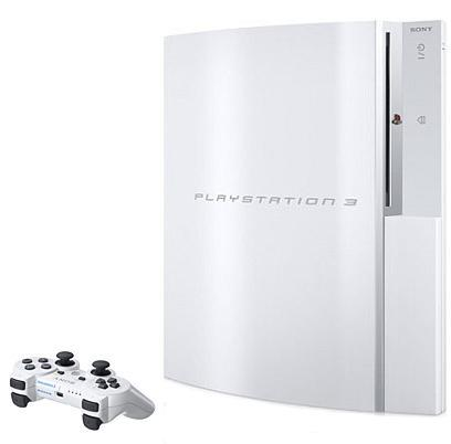 Sony Japan's ceramic white PS3 and DualShock 3 announced