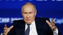 Putin attacks 'strange' European plans to reduce gas usage