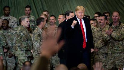 Russian bounty story stings Trump at key moment