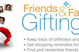Amazon announces 'Friends and Family Gifting,' just in time for the holidays