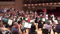 "CSO perform rendition of ""Chelsea Dagger"" in honor of Blackhawks"