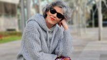 Este pantalón de lentejuelas de Bershka enamora a las influencers de 50 años y a las de 20