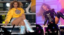 Beyoncé Pulled Off a Nail Change During Coachella