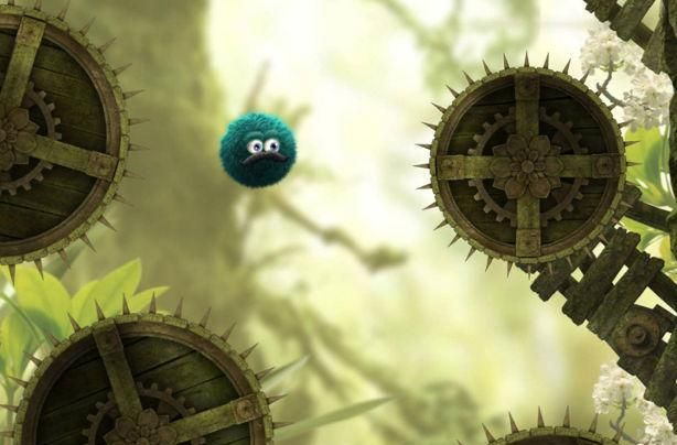 Fluffy platformer Leo's Fortune rolls to Android