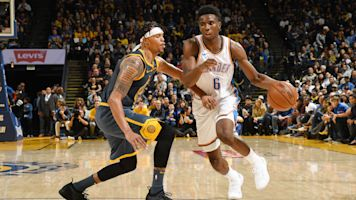 Thunder rookie badly hurt in win over Warriors