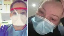 Melbourne nurse with coronavirus has 'never felt so sick'