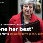 Theresa May is stepping down as U.K. prime minister