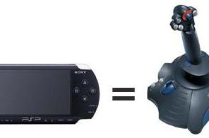 Use your PSP as a PC joystick