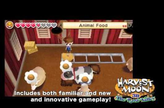 Harvest Moon embraces Minecraft in The Lost Valley for 3DS