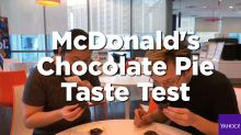 We tested the new chocolate pie by McDonald's Singapore