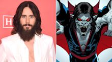 Jared Leto Shares Chilling First Look at His Performance as Marvel Villain Morbius